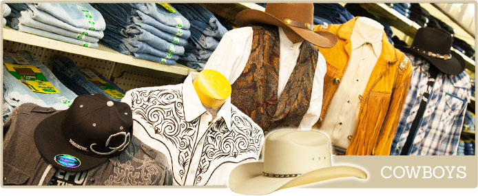Western wear for the urban cowboy