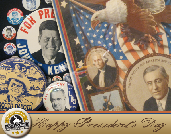 Presidential campaign button collection