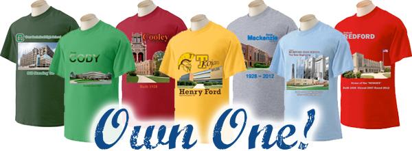 Detroit Public Schools T-Shirts