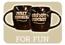 Funny cowboy/cowgirl mugs