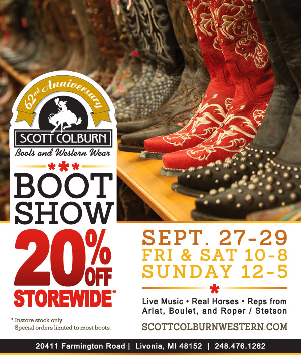 Scott Colburn Boots & Western Wear Boot Show 2013