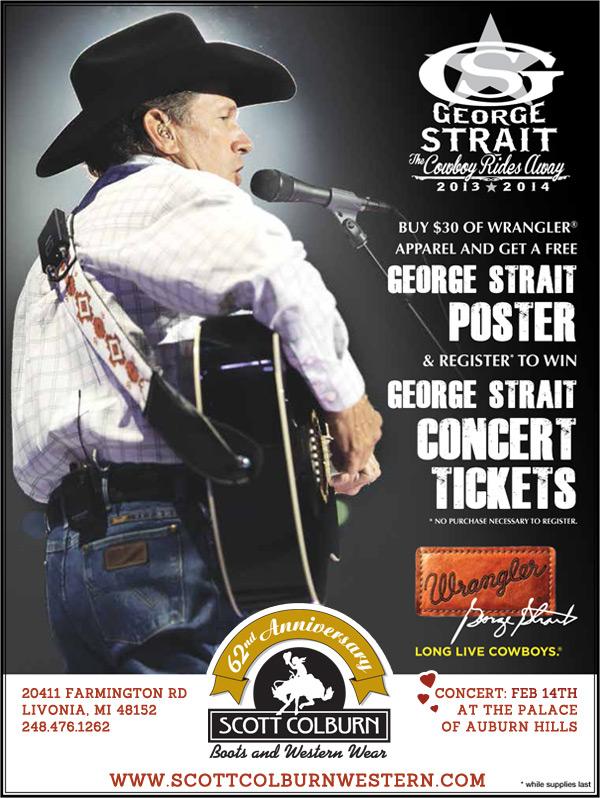Win George Strait Concert Tickets