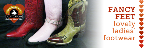 Red, pink, and cheetah print cowgirl boots