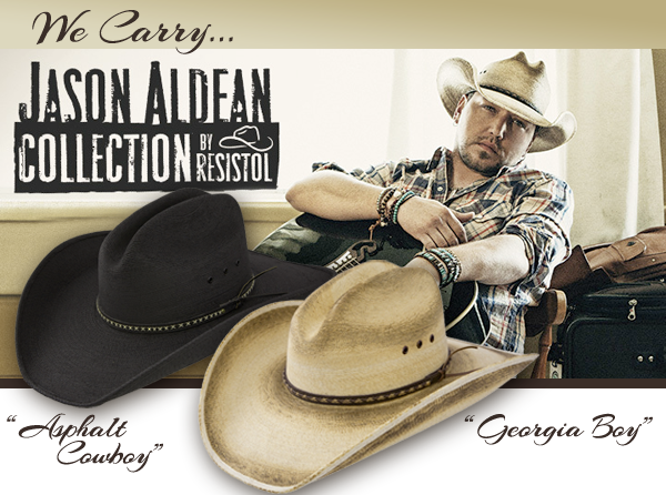 Jason Aldean Cowboy Hat Collection by Resistol