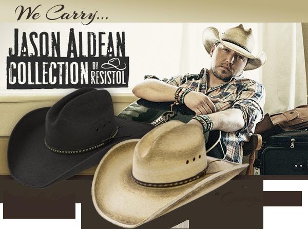 Jason Aldean Cowboy Hat Collection by Resistol