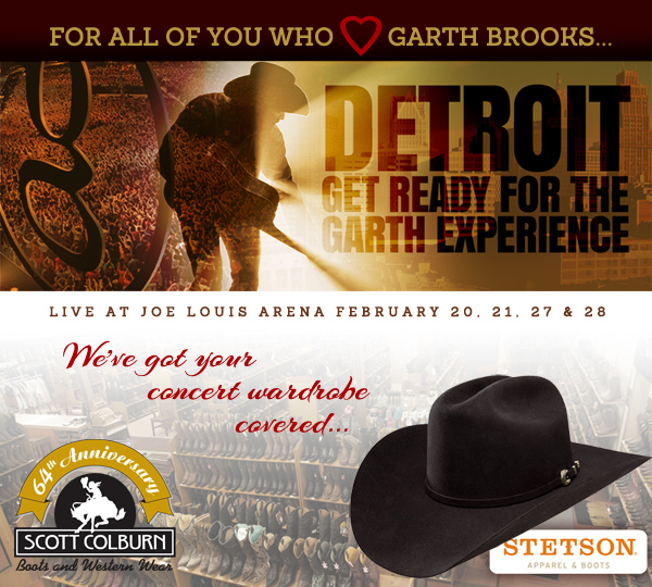 Garth Brooks concert gear