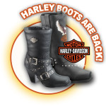 Harley boots are back at Scott Colburn Boots and Western Wear
