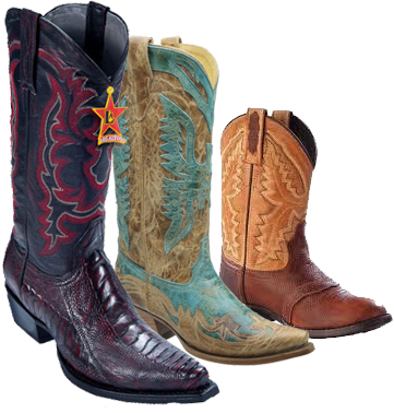 Men's, Ladies', and Kids' Cowboy Boots