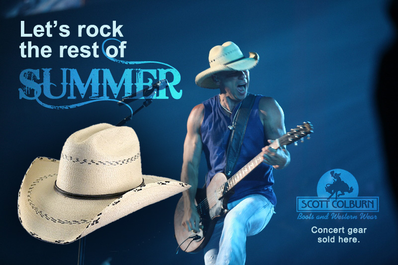 Rock the rest of summer with Scott Colburn Boots and Western Wear