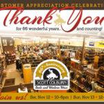 Customer Appreciation Weekend celebration at Scott Colburn Boots and Western Wear