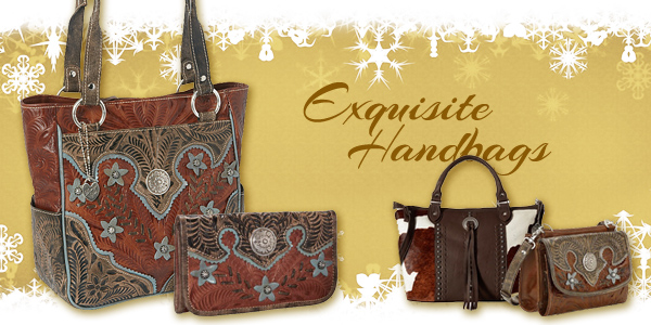 American West purses, handbags, and wallets at Scott Colburn Boots & Western Wear