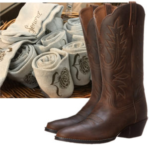Get a complimentary pair of Sonora boot socks with purchase of womens boots