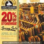 Spring Storewide Sale 2017