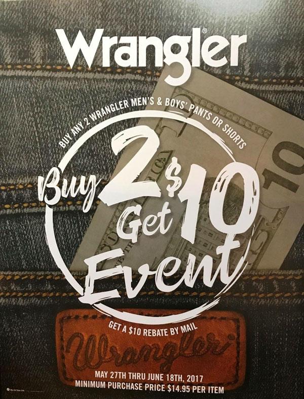 Wrangler promotion