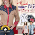 Scott Colburn Boots and Western Wear Buy 2, Get 1 Shirt Sale