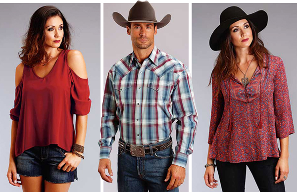 Stetson apparel at Scott Colburn Boots and Western Wear