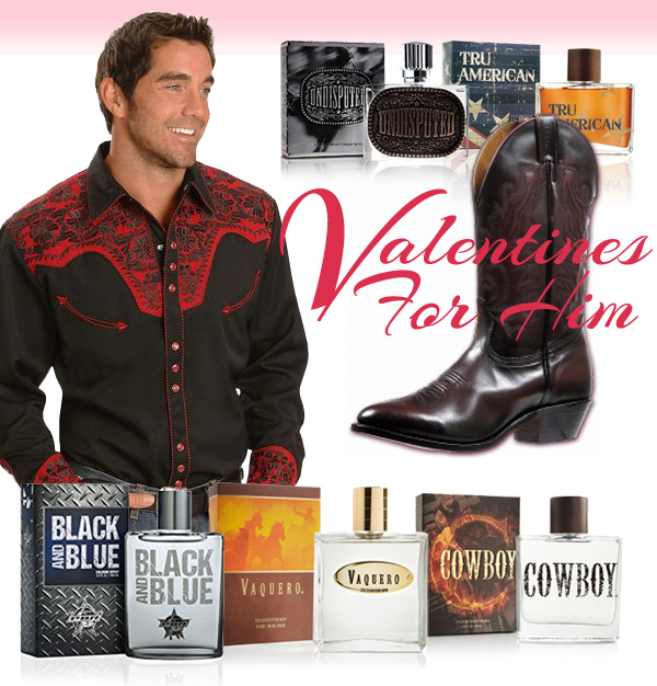 Men's Western Cowboy Valentines Day gift ideas