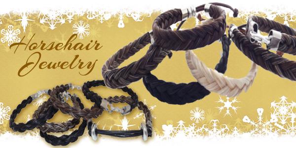 western horsehair jewelry